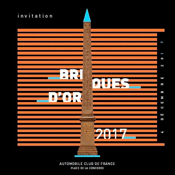 Cérémonie des Briques d'or 2017