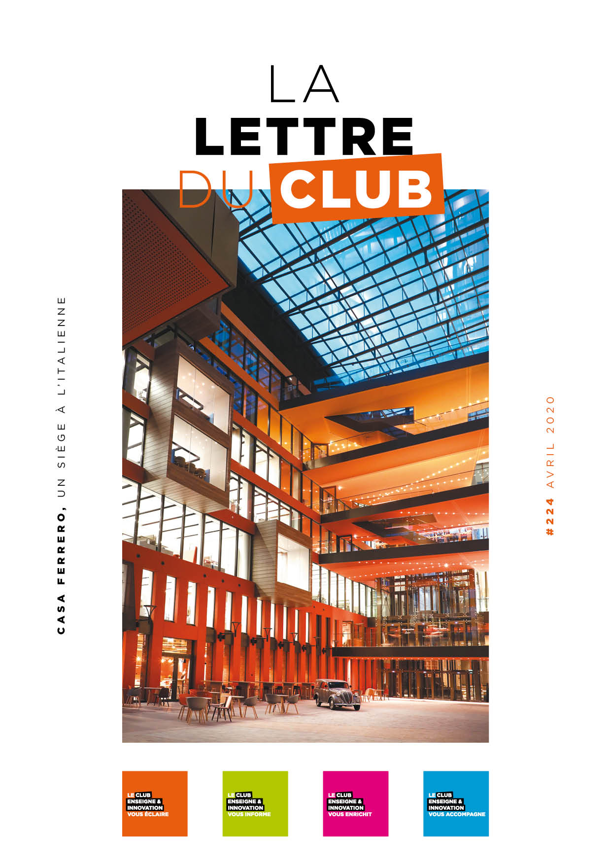 Lettre du Club d'avril 2020