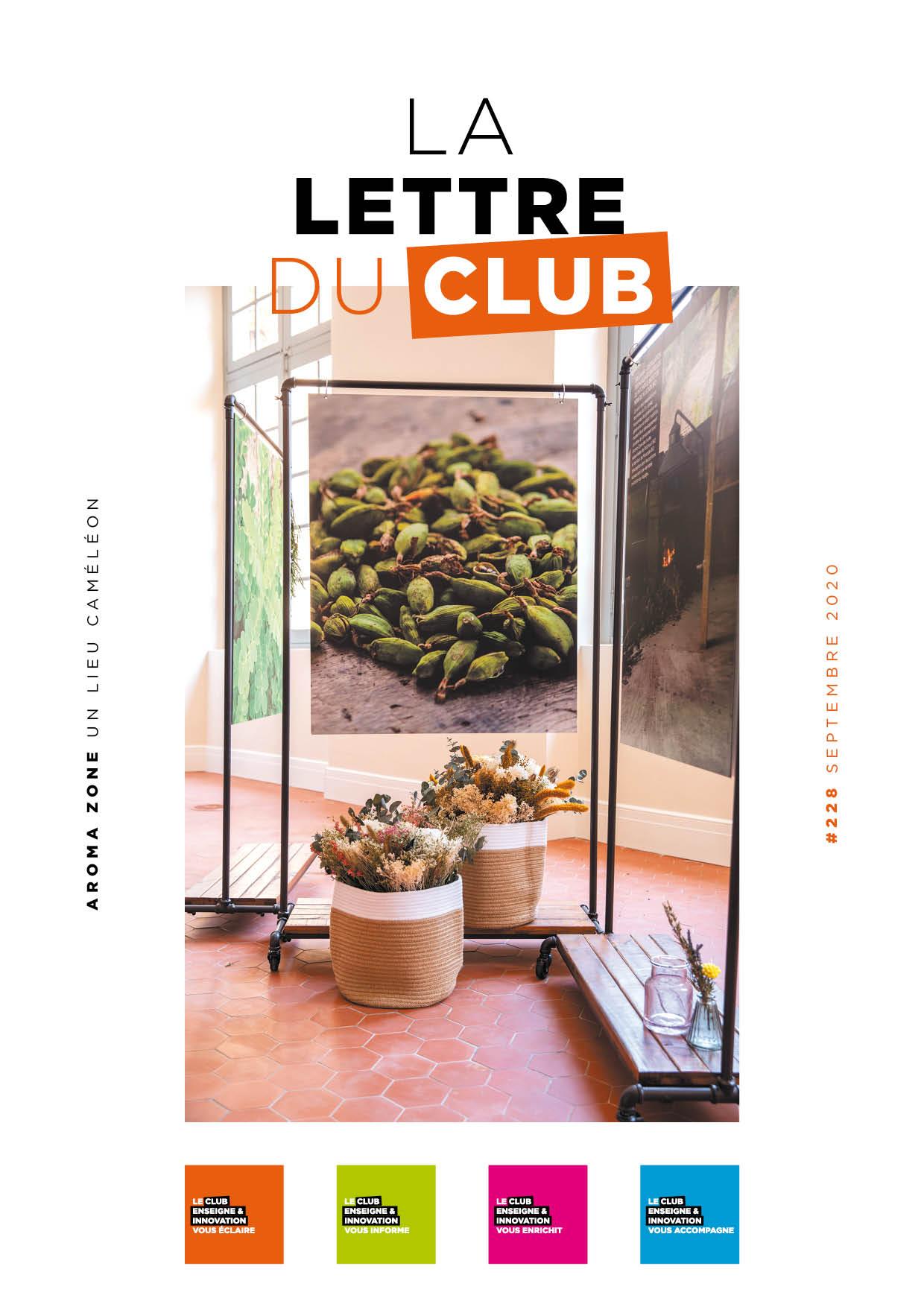 Lettre du Club de septembre 2020