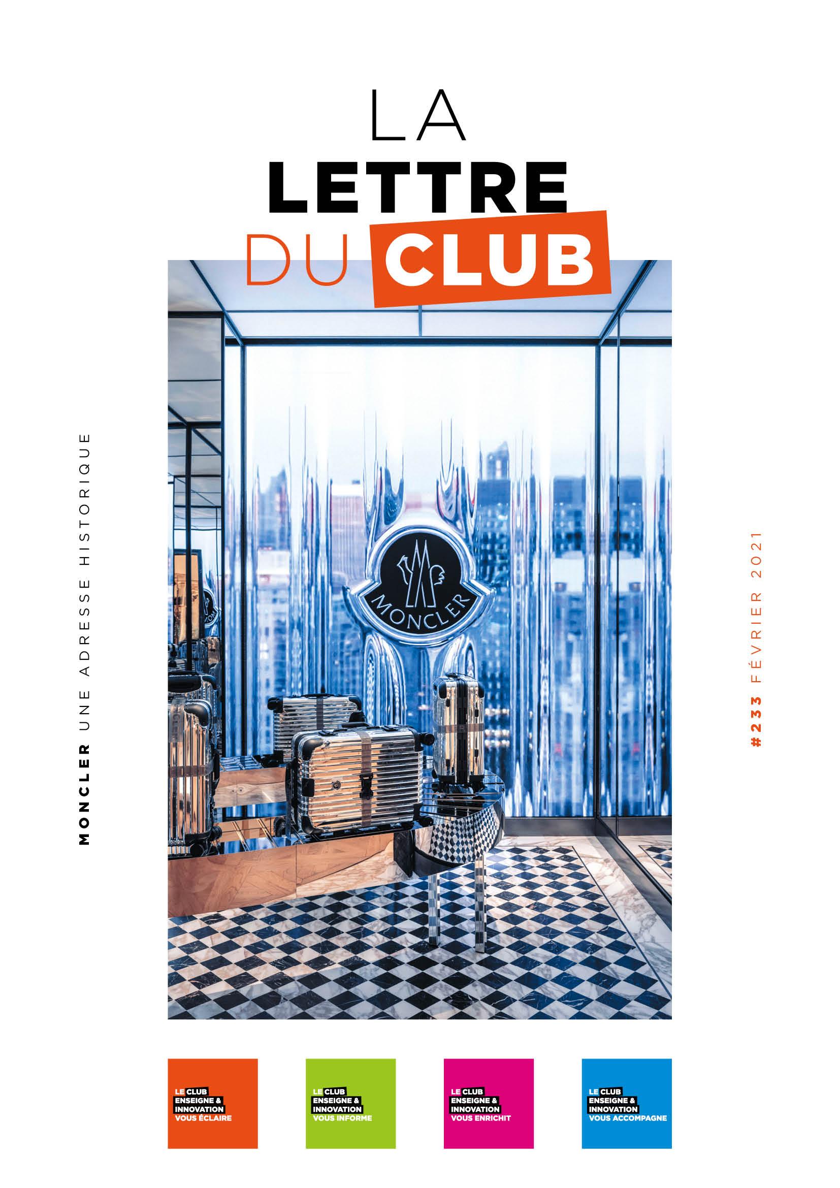 Lettre du Club de février 2021