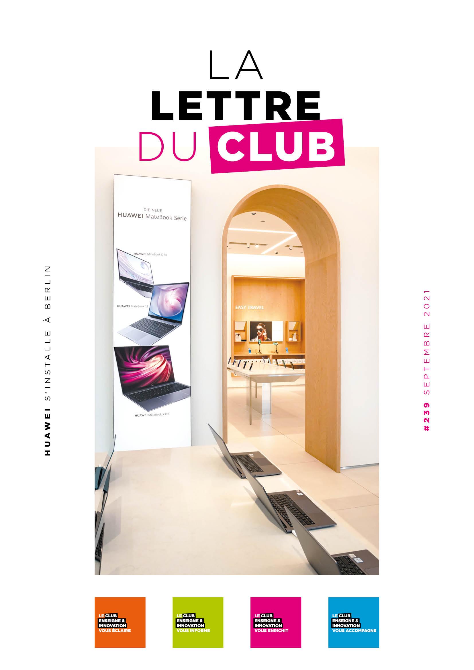 You are currently viewing Lettre du Club de septembre 2021
